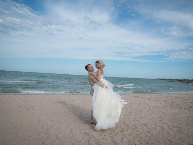 The wedding of Aaron and Kimberly