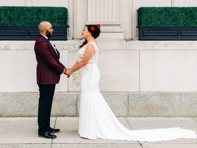 The wedding of Motier and Siai-Anne