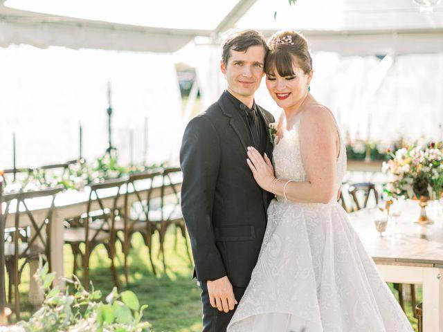 The wedding of Rachel and Steven