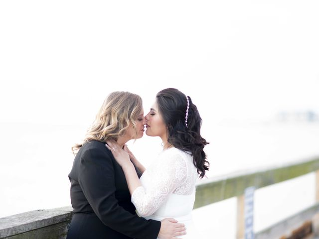 The wedding of Maggie and Alejandra