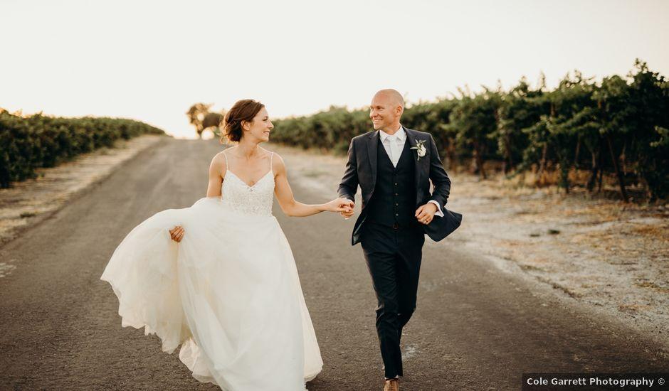 Trevor and Annie's Wedding in Santa Margarita, California