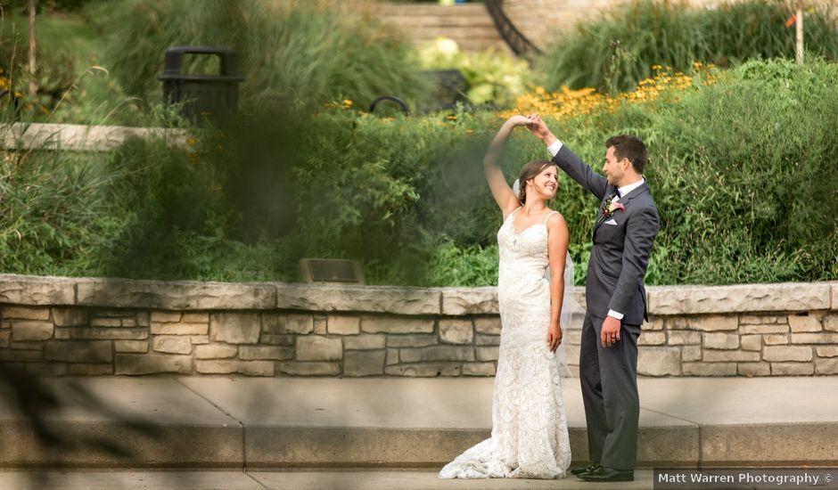 Spencer and Alyssa's Wedding in Elgin, Illinois
