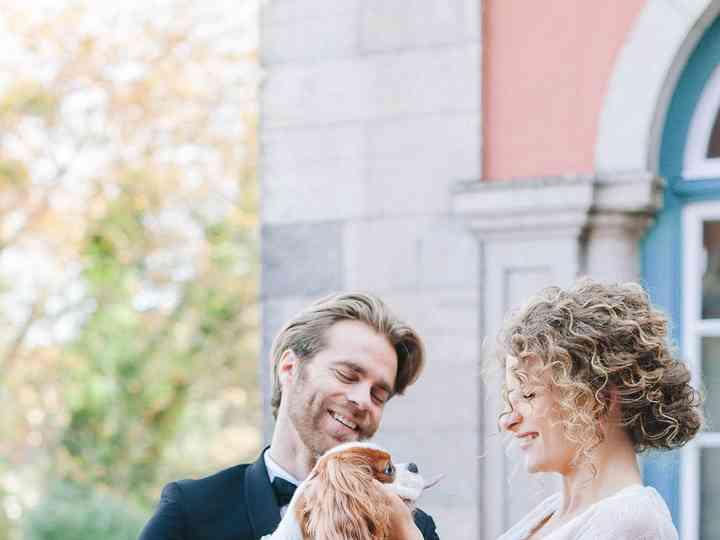 The wedding of Sarah and Mark