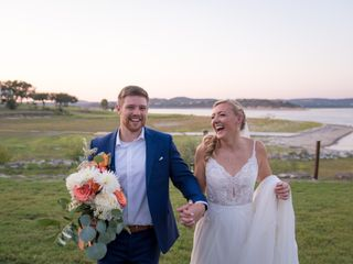 The wedding of Erin and Clay