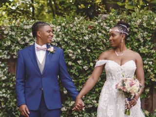 The wedding of Crystal  and Tanae