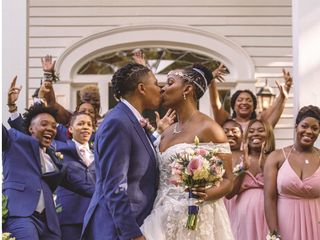 The wedding of Crystal  and Tanae 2