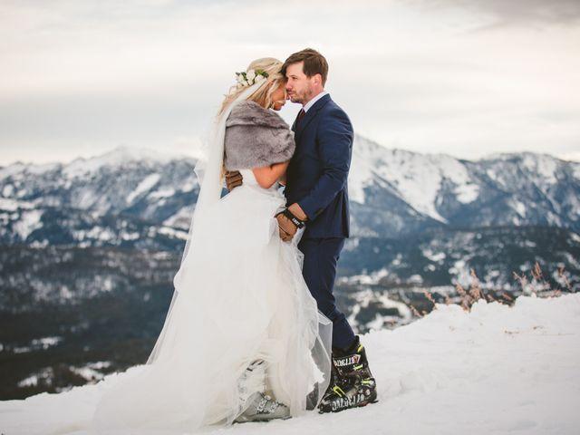 Matt and Cackie's Wedding in Big Sky, Montana 10