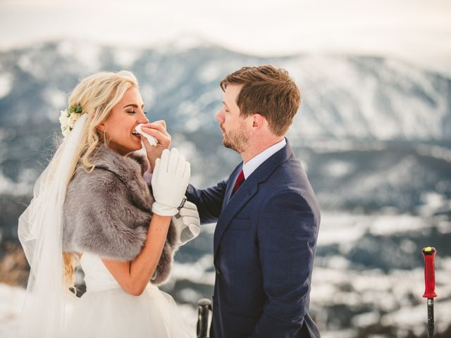 Matt and Cackie's Wedding in Big Sky, Montana 12