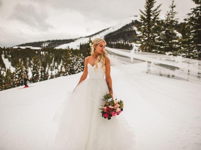Matt and Cackie's Wedding in Big Sky, Montana 13