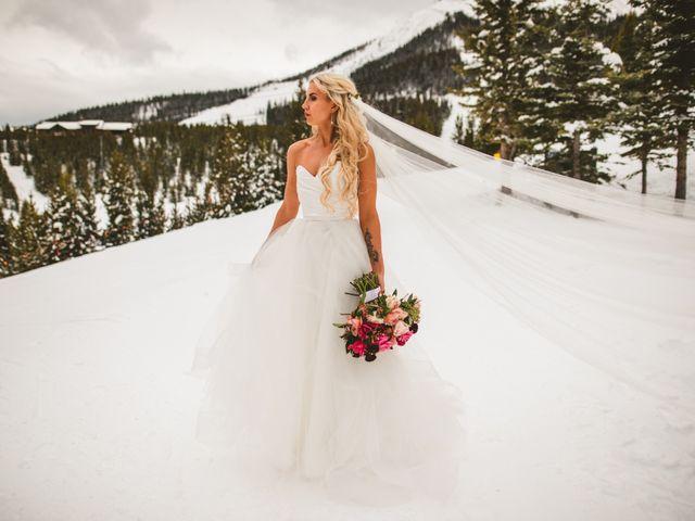 Matt and Cackie's Wedding in Big Sky, Montana 14