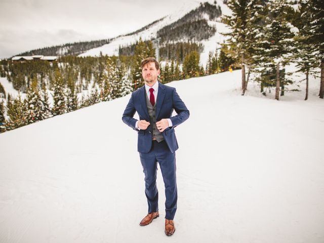 Matt and Cackie's Wedding in Big Sky, Montana 16