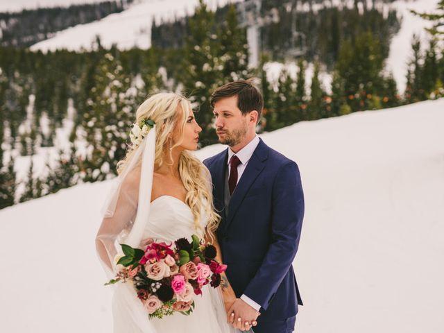 Matt and Cackie's Wedding in Big Sky, Montana 23