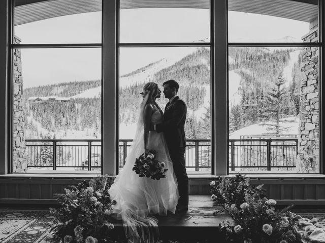 Matt and Cackie's Wedding in Big Sky, Montana 24