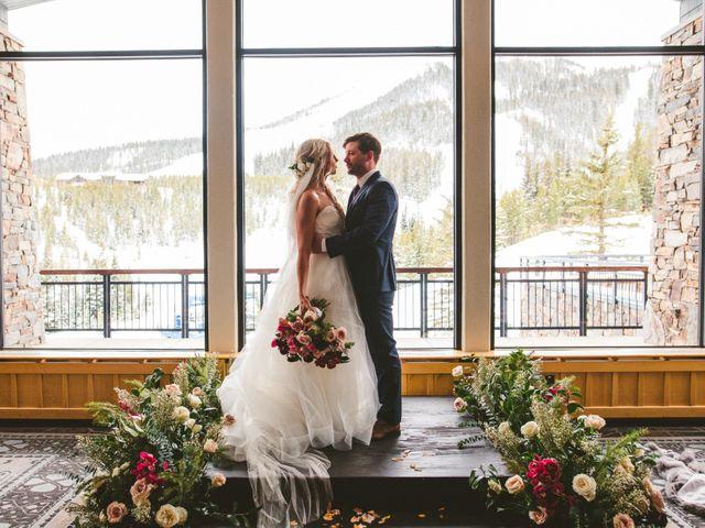 Matt and Cackie's Wedding in Big Sky, Montana 25