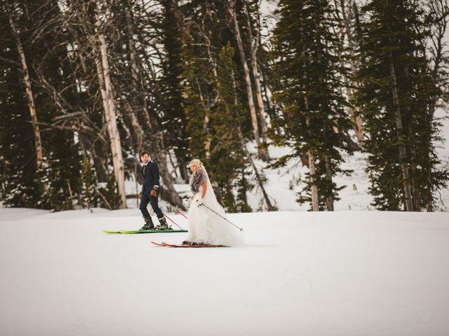 Matt and Cackie's Wedding in Big Sky, Montana 30