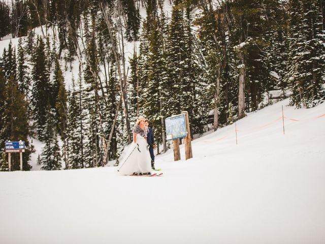 Matt and Cackie's Wedding in Big Sky, Montana 31