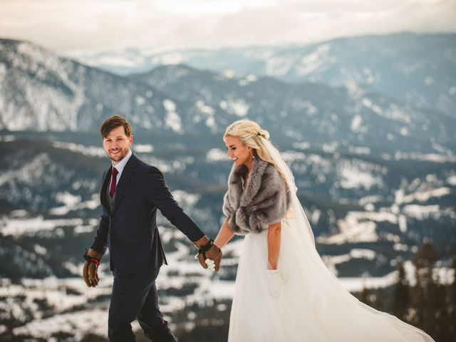 Matt and Cackie's Wedding in Big Sky, Montana 36