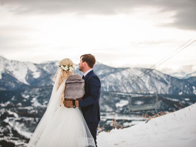Matt and Cackie's Wedding in Big Sky, Montana 39