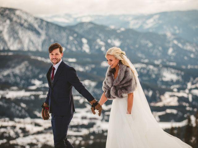 Matt and Cackie's Wedding in Big Sky, Montana 41