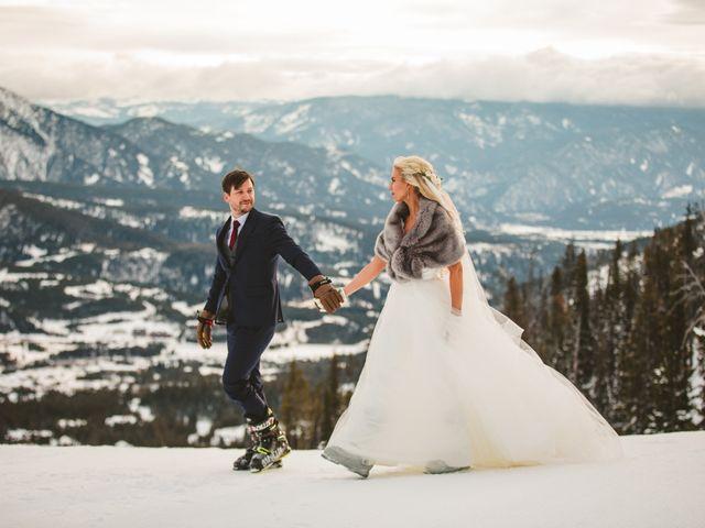 Matt and Cackie's Wedding in Big Sky, Montana 42