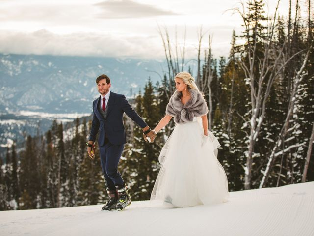 Matt and Cackie's Wedding in Big Sky, Montana 43