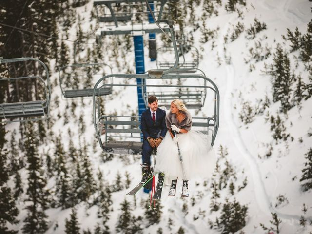 Matt and Cackie's Wedding in Big Sky, Montana 1