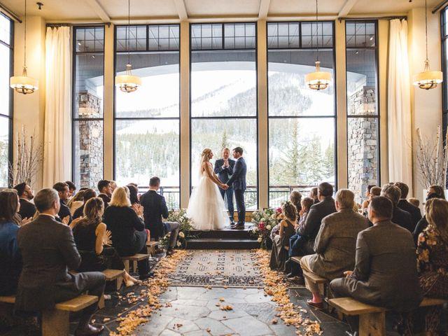 Matt and Cackie's Wedding in Big Sky, Montana 2