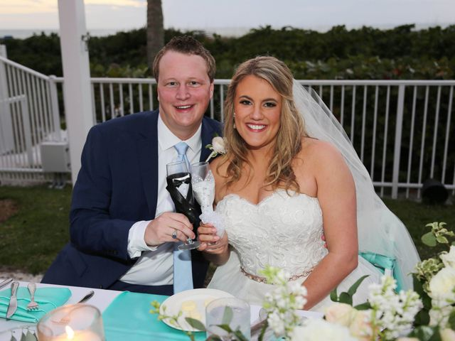 Will and Chrissy's Wedding in Fort Myers Beach, Florida 7