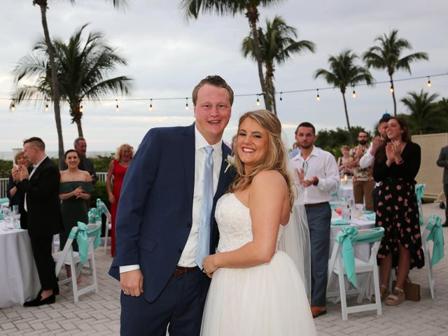 Will and Chrissy's Wedding in Fort Myers Beach, Florida 9