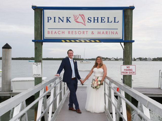 Will and Chrissy's Wedding in Fort Myers Beach, Florida 11