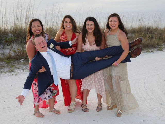 Will and Chrissy's Wedding in Fort Myers Beach, Florida 12