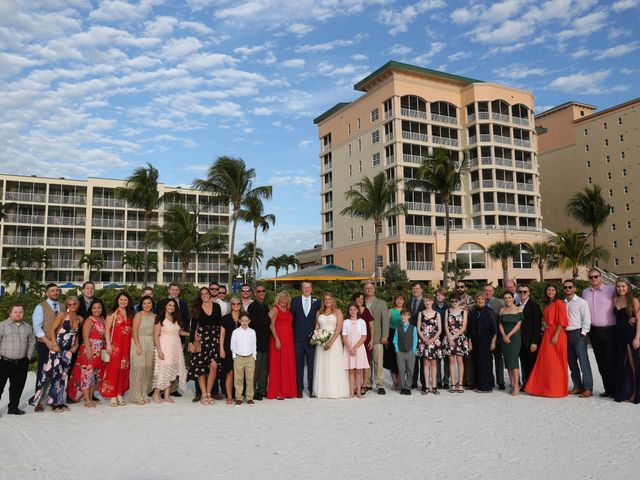 Will and Chrissy's Wedding in Fort Myers Beach, Florida 17