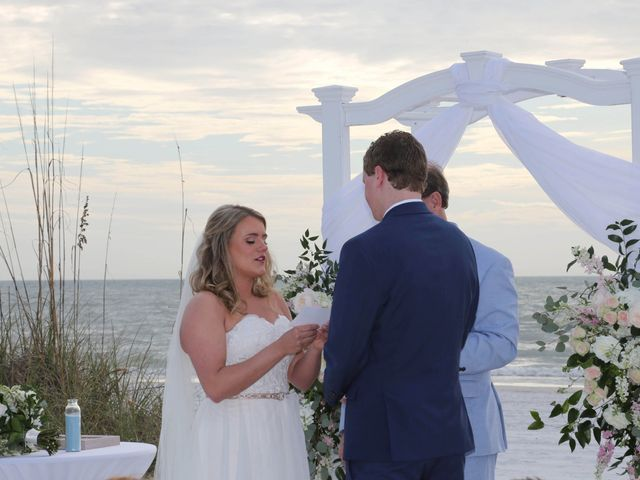 Will and Chrissy's Wedding in Fort Myers Beach, Florida 22