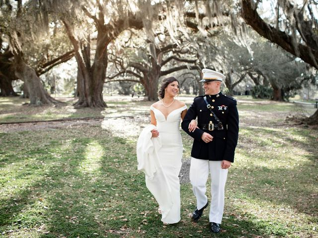 The wedding of Daniella and Matt