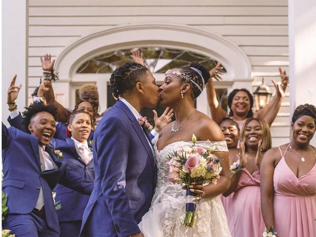 Tanae and Crystal 's Wedding in Norcross, Georgia 1
