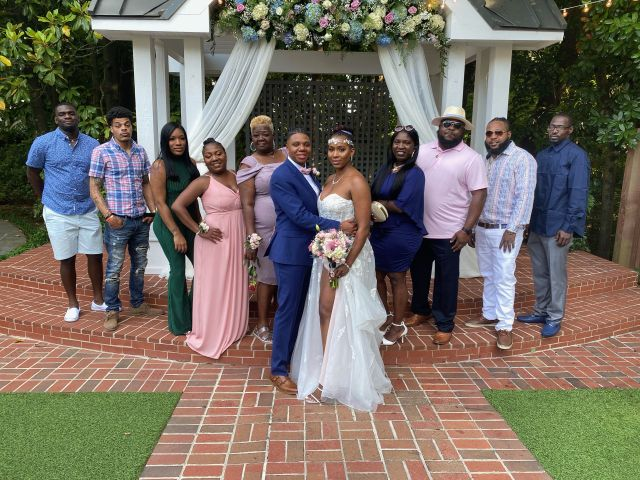 Tanae and Crystal 's Wedding in Norcross, Georgia 7