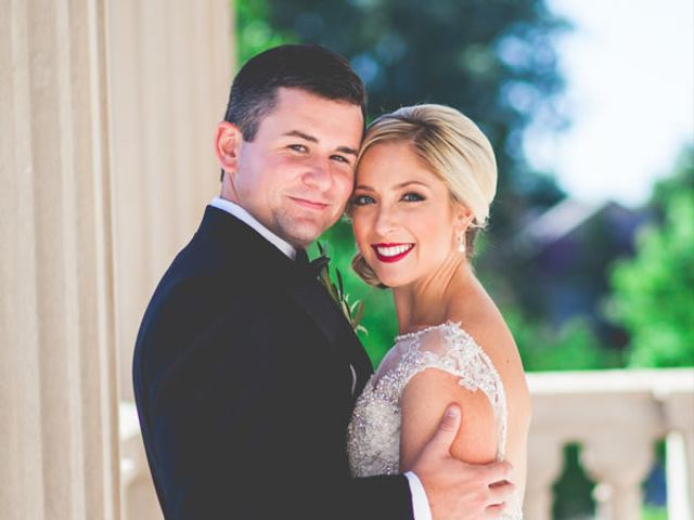 The wedding of Cameron and Danielle