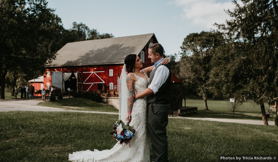 Ryan and Kelsey's Wedding in Moundsville, West Virginia