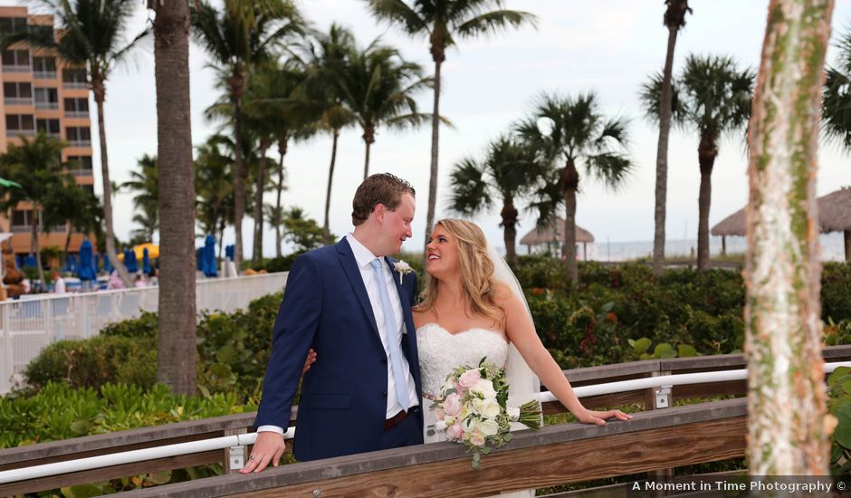 Will and Chrissy's Wedding in Fort Myers Beach, Florida