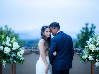 The wedding of Vicki and Anthony