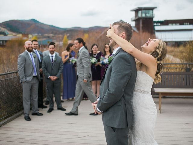 Lena and Kyle's Wedding in Park City, Utah 5