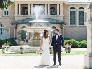 The wedding of Alix and Matt