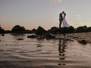 The wedding of Leina and Daniel