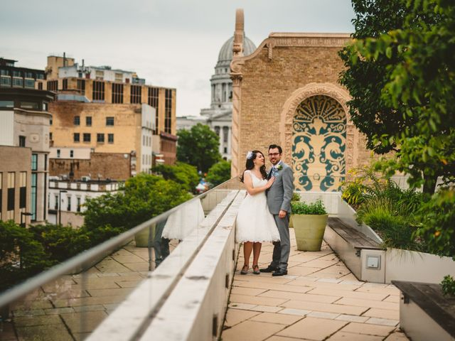 A.J. and Jenny's Wedding in Madison, Wisconsin 1