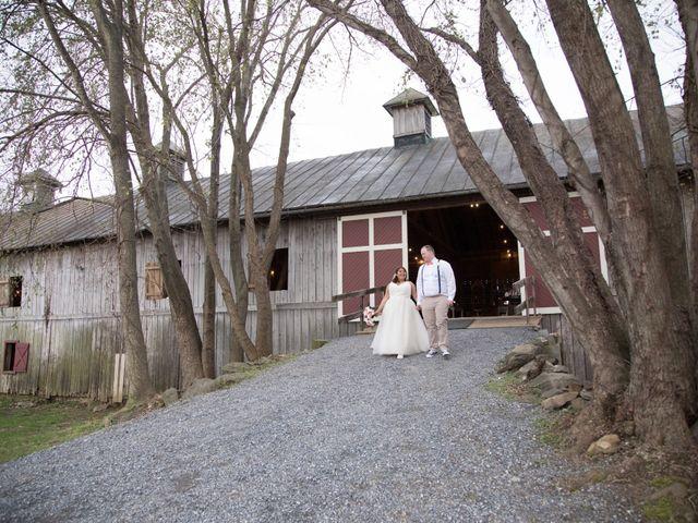 The wedding of Lindsay and Nick