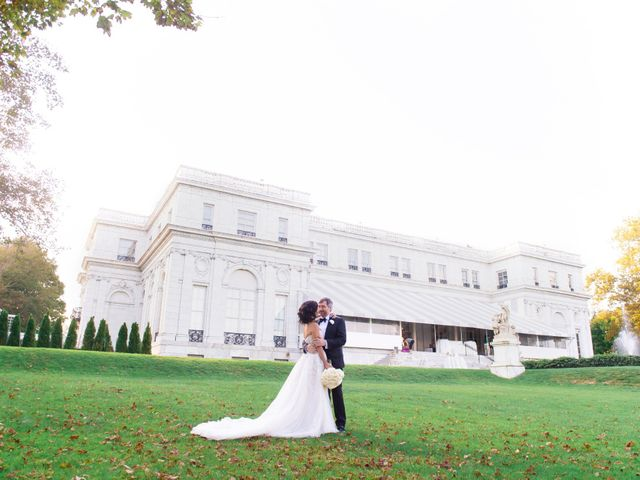 Jason and Aysa's Wedding in Newport, Rhode Island 16