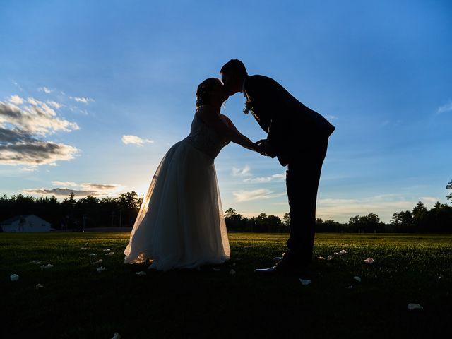 The wedding of Amanda and David