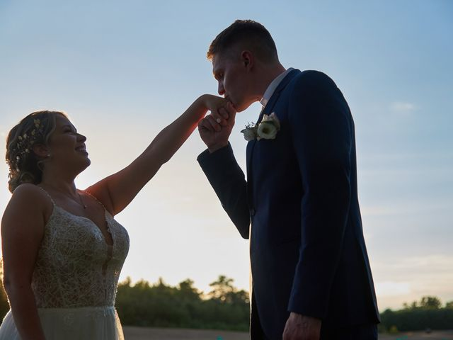 David and Amanda's Wedding in Somersworth, New Hampshire 12