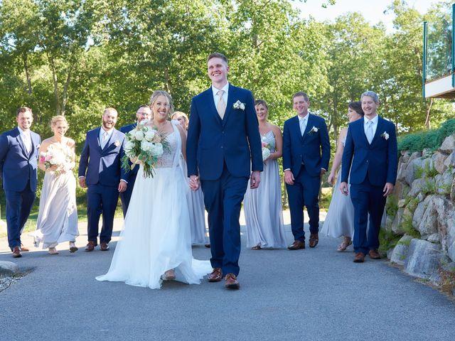 David and Amanda's Wedding in Somersworth, New Hampshire 21