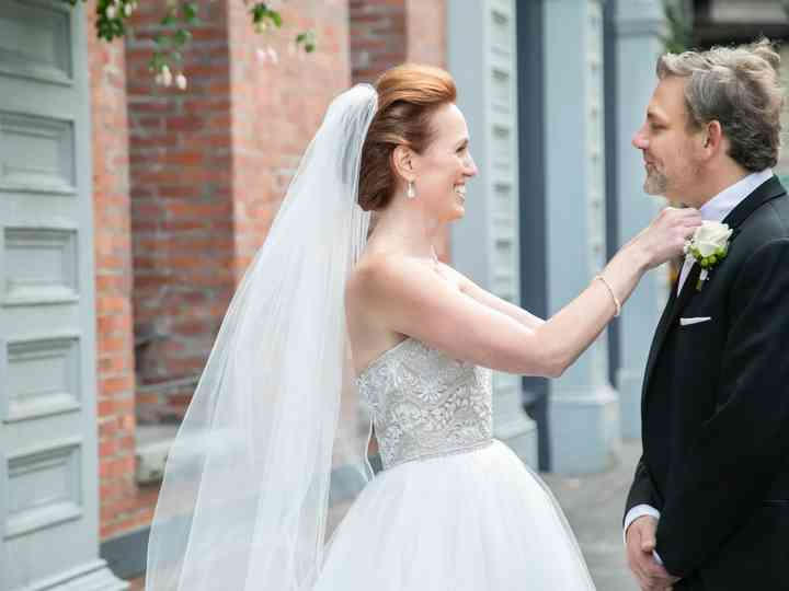 The wedding of Tom and Yelena